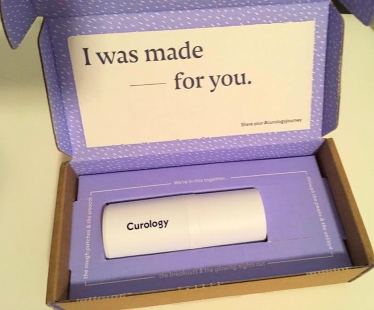 Curology box